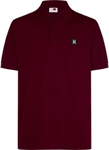 Tommy Hilfiger Erkek Lh Logo Polo Tişört MW0MW11424 Renkli